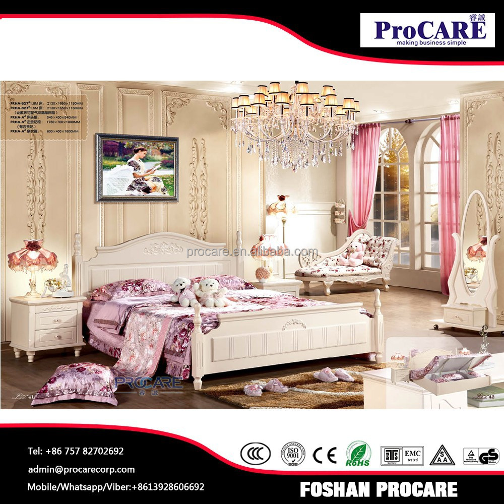 Turkish And Indian Fashion Design Bedroom Furniture Sets With High Quality An