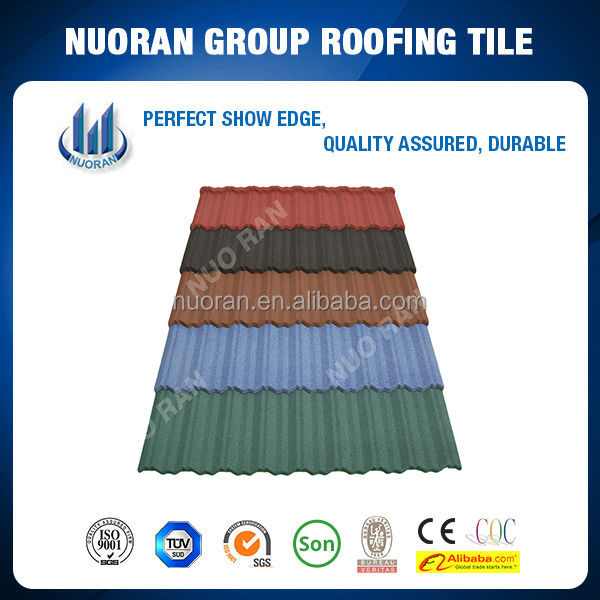 Nuoran modern house wholesale construction materials for Flexible roofing material