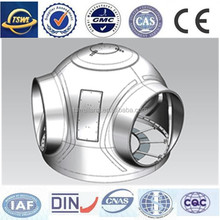 stainless steel part , large forging max weight 260 tons ,cast iron foundry china
