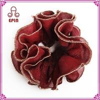 Fabric elastic hair tie, pony hair fabric, fabric elastic tie