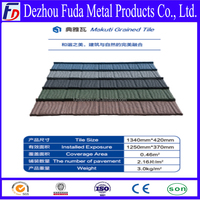 Lightweight Colorful Stone Coated Metal Roof Tiles Supplier
