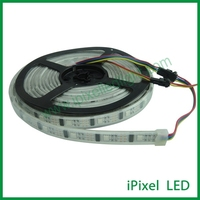 individually control 4 pin connector silicon tube ws2801 led strip 32leds