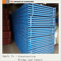 Tianjin Factory TSX-SP-100026 construction metal prop/cuplock shoring system/dubai props jack