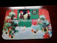 2015 Fashion New design custom printed mat