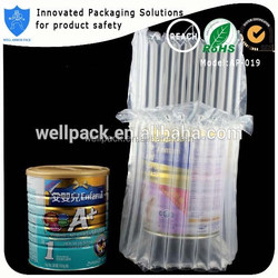 Well Armor Pack perfect waterproof air column bubble padded bags for milk can