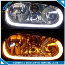 12v 2X 60cm DRL auto car led headlights universal 600mm LED Flexible Optical DRL, special design led strip lights for all cars