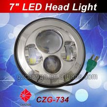 China wholesale 40w headlight motorcycle 7 inch round for automotive