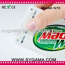 2011 Newest card design mp3 player with Free Logo Printing