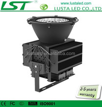 LED High Bay Luminaires 100-480W IP65 Waterproof Meanwell Driver Garage Lighting 5 Years Warranty High Bay LED Lighting Fixtures
