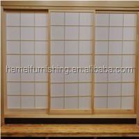 Japanese shoji sliding door