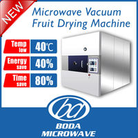 batch type microwave vacuum drying machine for fruit vegetable or food