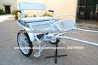 Luxo duas rodas carroça / charrete / carruagem