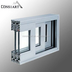 2015 Aluminum profile extrusion shanghai factory build materi aluminum sash window