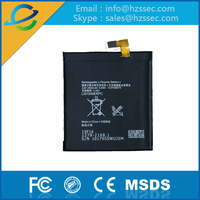 GB T18287-2000 China Factory Super Quality 2500mAh Mobile Phone Battery For SONY-LIS1546ERPC