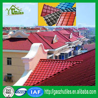 building materials heat insulation PVC roof tile/pvc waterproofing roof shingle/corrugated roof panel