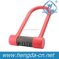 YH9120 Silicone Material ECO-Friendly Combination U Lock Bicycle Silicone Lock