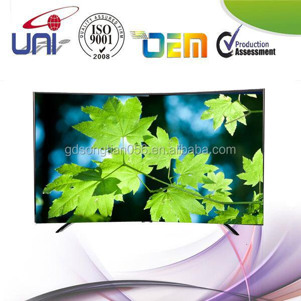 곡선 스마트 TV의 84- 인치 4K UHD 3D Wi-Fi 인터넷 TV 주도-텔레비전 ...