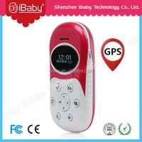 sos alarm Personal mini gps tracker with logo