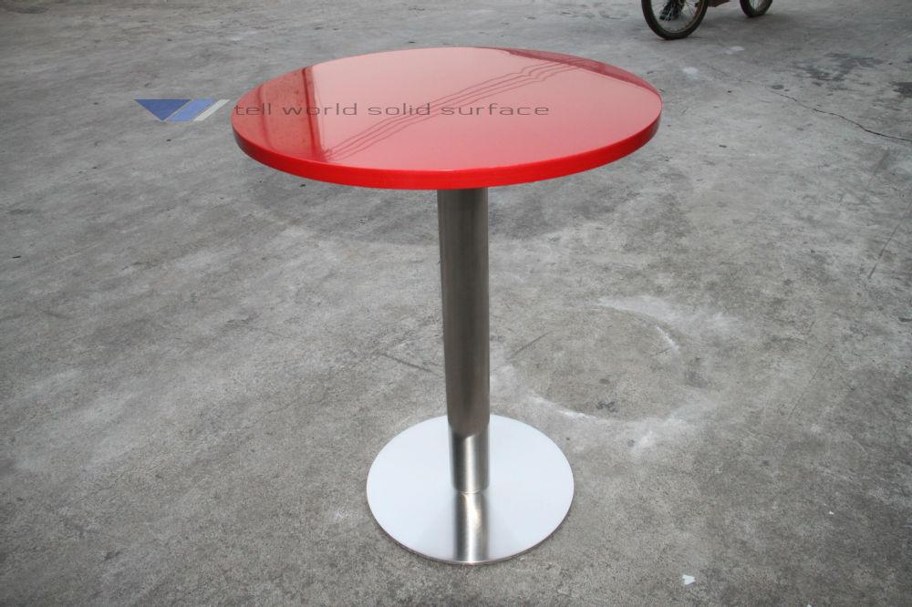 최고 품질의 버거 킹 인공 대리석 식탁-테이블을 다이닝 -상품 ID ...