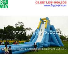 cheap giant commercial grade inflatable hippo water slide for adult