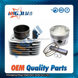 Motorcycle Parts Motorcycle Engine Part Chinese Loncin CB145 Motorcycles Cylinder kit 61mm dameter