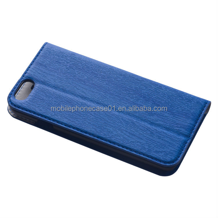 Mobile Phone Accessories Wallet Leather Case Flip Cover for iPhone 6