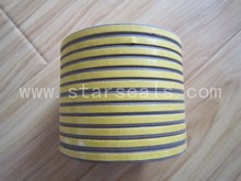 window or door double-sided adhesive EPDM weather striping with different type seals