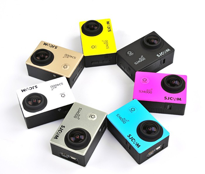 Original Full HD 1080P Waterproof 30M action camera SJCAM SJ4000 WIFI