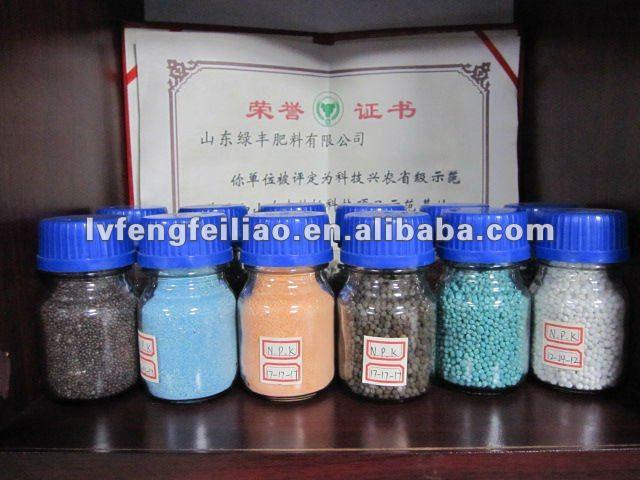Npk fertilizantes 15 - 15 - 15 20 - 10 - 10 12 - 12 - 17