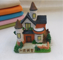 Fashionable New Style Polyresin beautiful house roof model B-BFM-0005