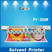 Original Infiniti Challenger FY-3208 Wide Format 126 Inch Solvent Printer (3.2m,fast speed 157 sqm/h)