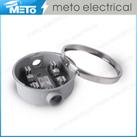 Aluminum 100A Round Single Phase Electrical Power Meter Socket/meter base/meter box