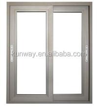 Double Glazing Sliding Type Aluminium Window