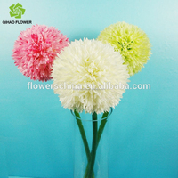 cheap artificial Single small plastic onion ball for wedding flower decoration
