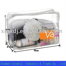 Transparent PVC cosmetic case for packaging
