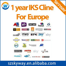 CCCAM account for Europe, Middle East and support Sky Germany, Sky UK, France HD, NOVA , DIGITAL+ HD, freesat ,TNT sat by skyway