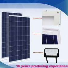100W solar price per watt home use polycrystalline solar panel