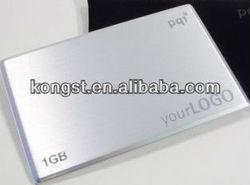 OEM High Speed Metal Business Card USB Flash Memory