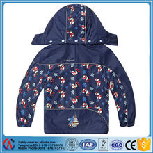 wholesale kids warm duiable sports waterproof raincoat