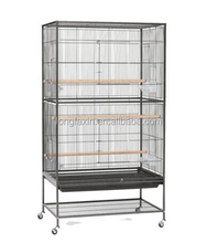 Bird Cage Wrought Iron with Stand Cage