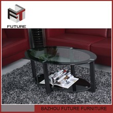 tempered painted glass table guangzhou fair coffee table