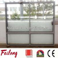 Aluminium Sliding Window Bottom Fixed Glass With AS2047 in Australia & NZ