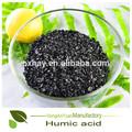 Heno de pingxiang 20-80mesh de ácido húmico a partir del carbón granulado brillante la promoción