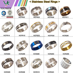 2015 Fashion Stainless Steel Rings