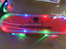 Wholesale new product scooter design phone computer LED bluetooth wireless speaker with USB card