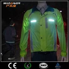 reflective security jacket/safety reflective jacket/3m reflective jacket