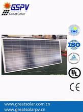 130w PV Solar Panel,Polycrystalline Silicon Module