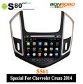 8 pulgadas 3G Especial para Chevrolet Cruze 2014 Android coches reproductor de DVD con DVD GPS 3G Wifi USB Radio táctil capaciti