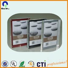 Can be screwed binded photo frame acrylic sheet
