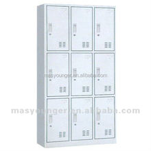 multi-door cheap steel storage locker cabinet/factory wholesale and high quality steel clothes armoire